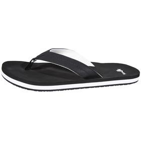 Sanük Burm - Sandales Homme - blanc/noir